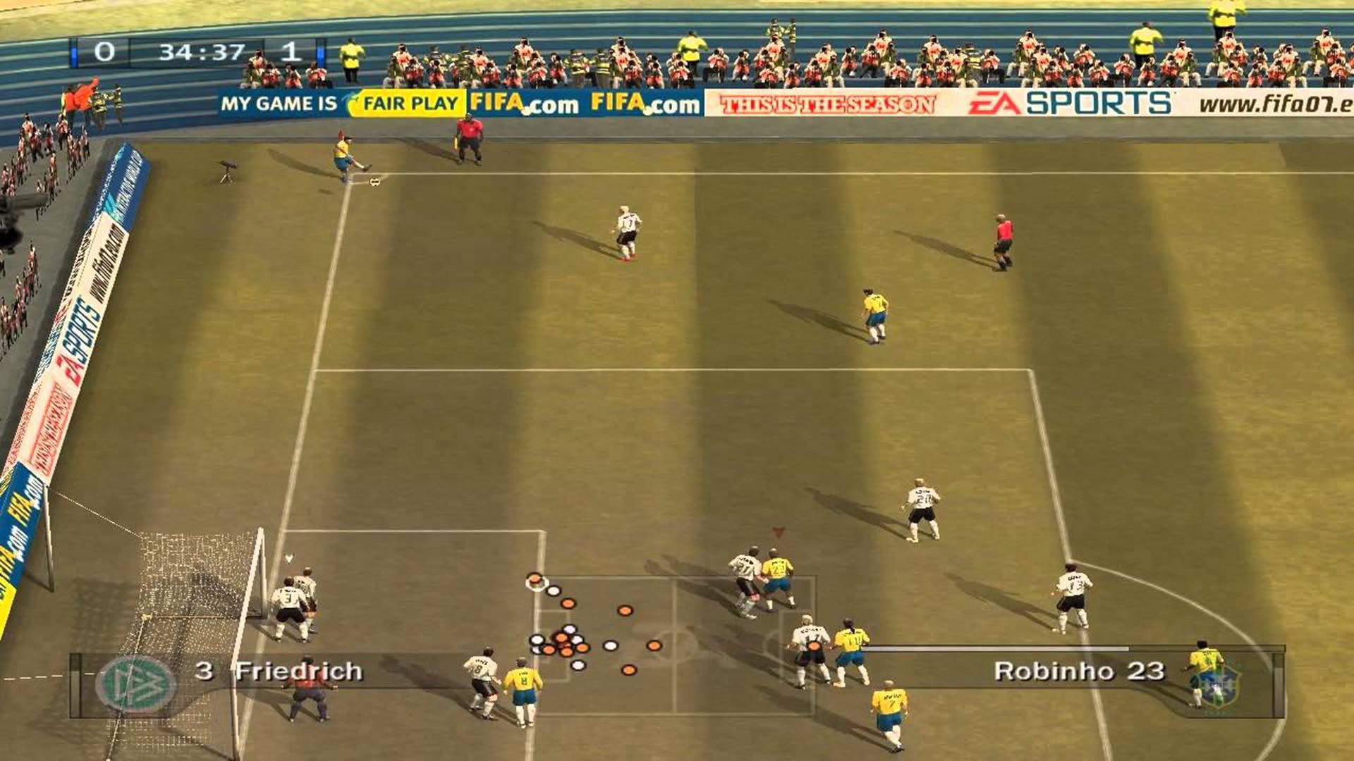 سلاسل الألعاب السنوية Fifa