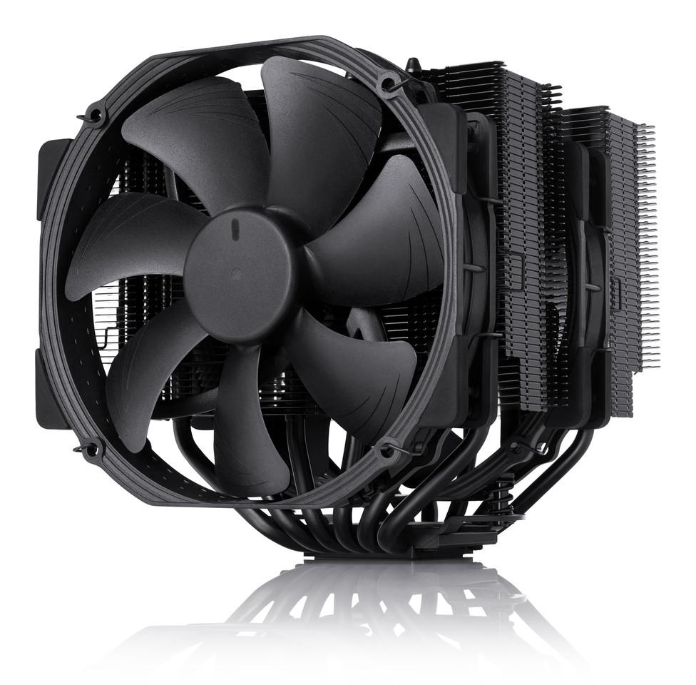 شركة Noctua تقدم سلسلة مبردات chromax black الجديدة، شكل جديد ونفس التبريد الرائع مشتت
