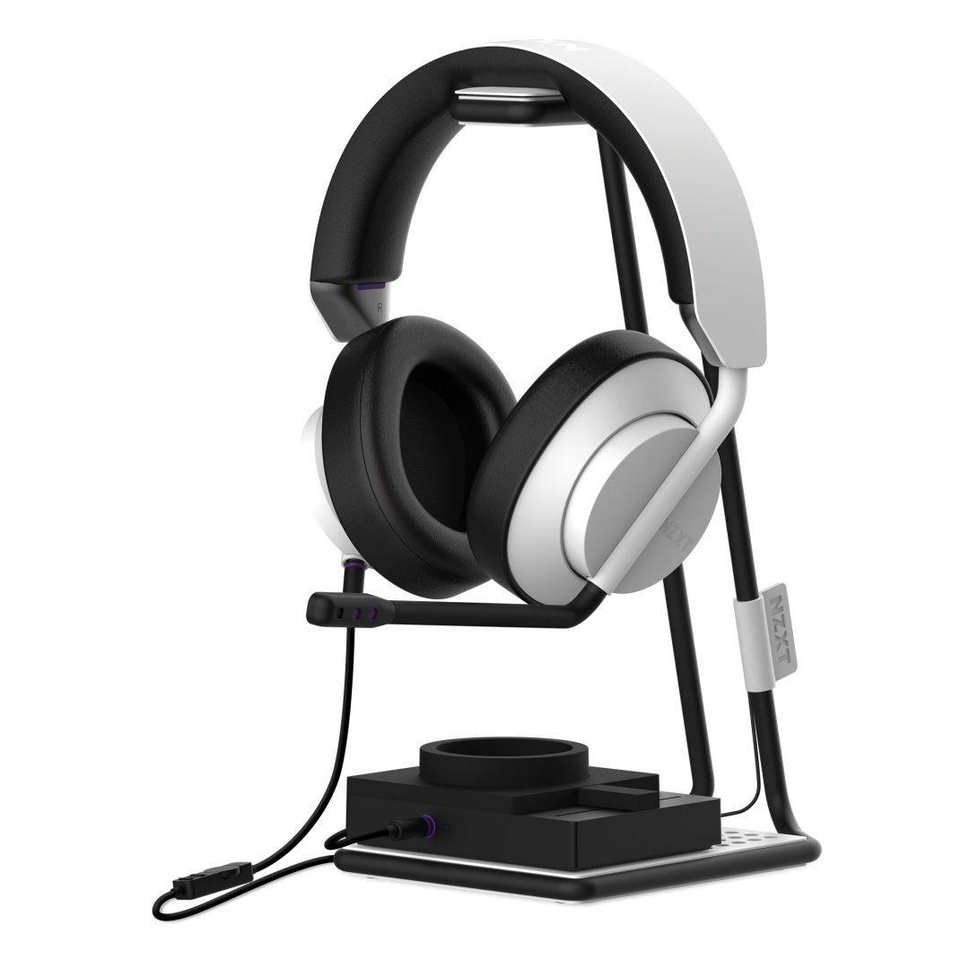 شركة NZXT تعلن عن مجموعة صوتية مع سماعة AER المخصصة للألعاب