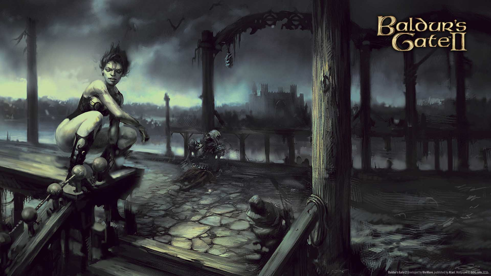 baldur's gate review لعبة