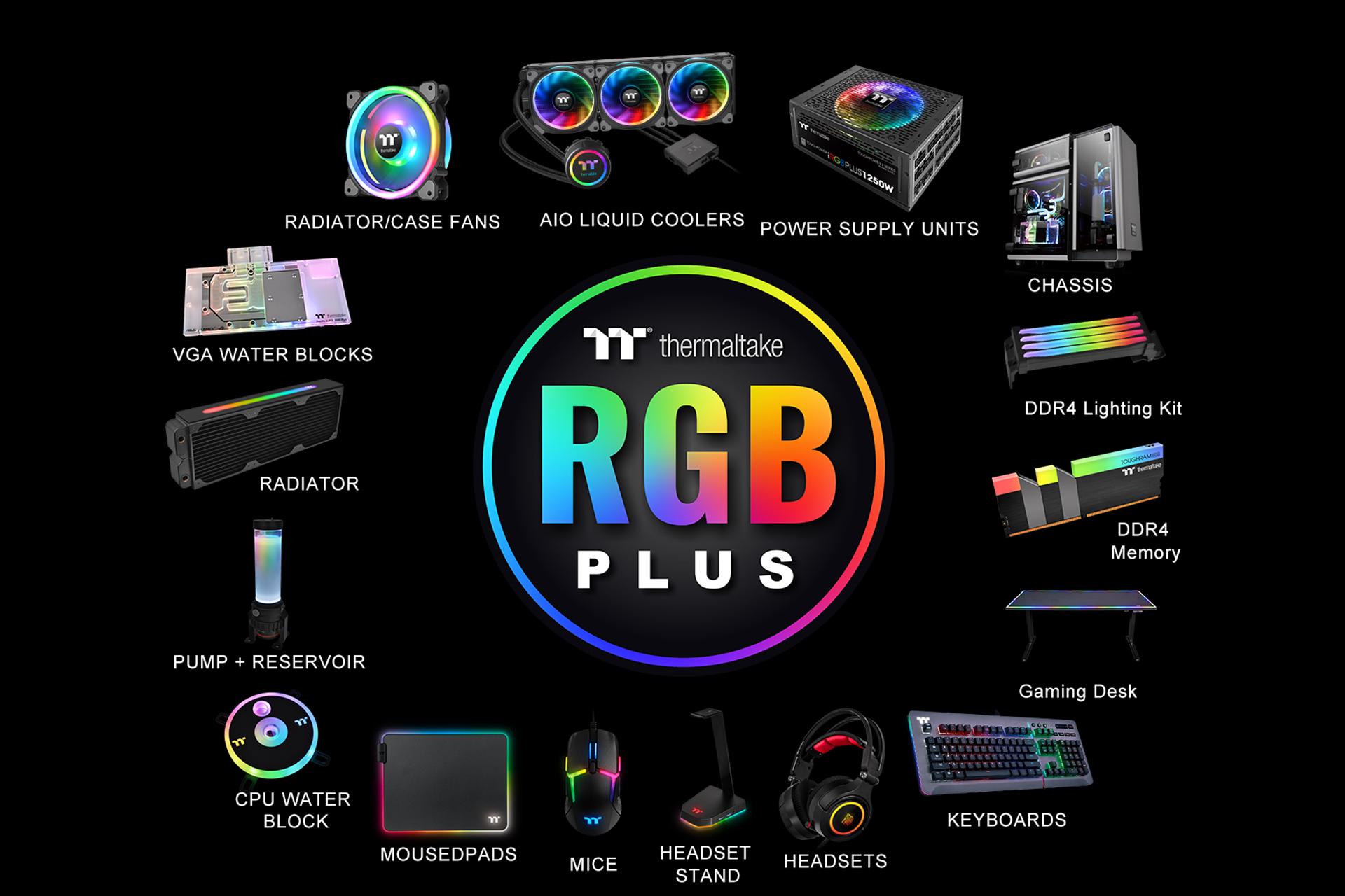 شركة Thermaltake تعلن عن ذواكر Thermaltake TOUGHRAM Z-ONE الجديدة رام DDR4 RGB