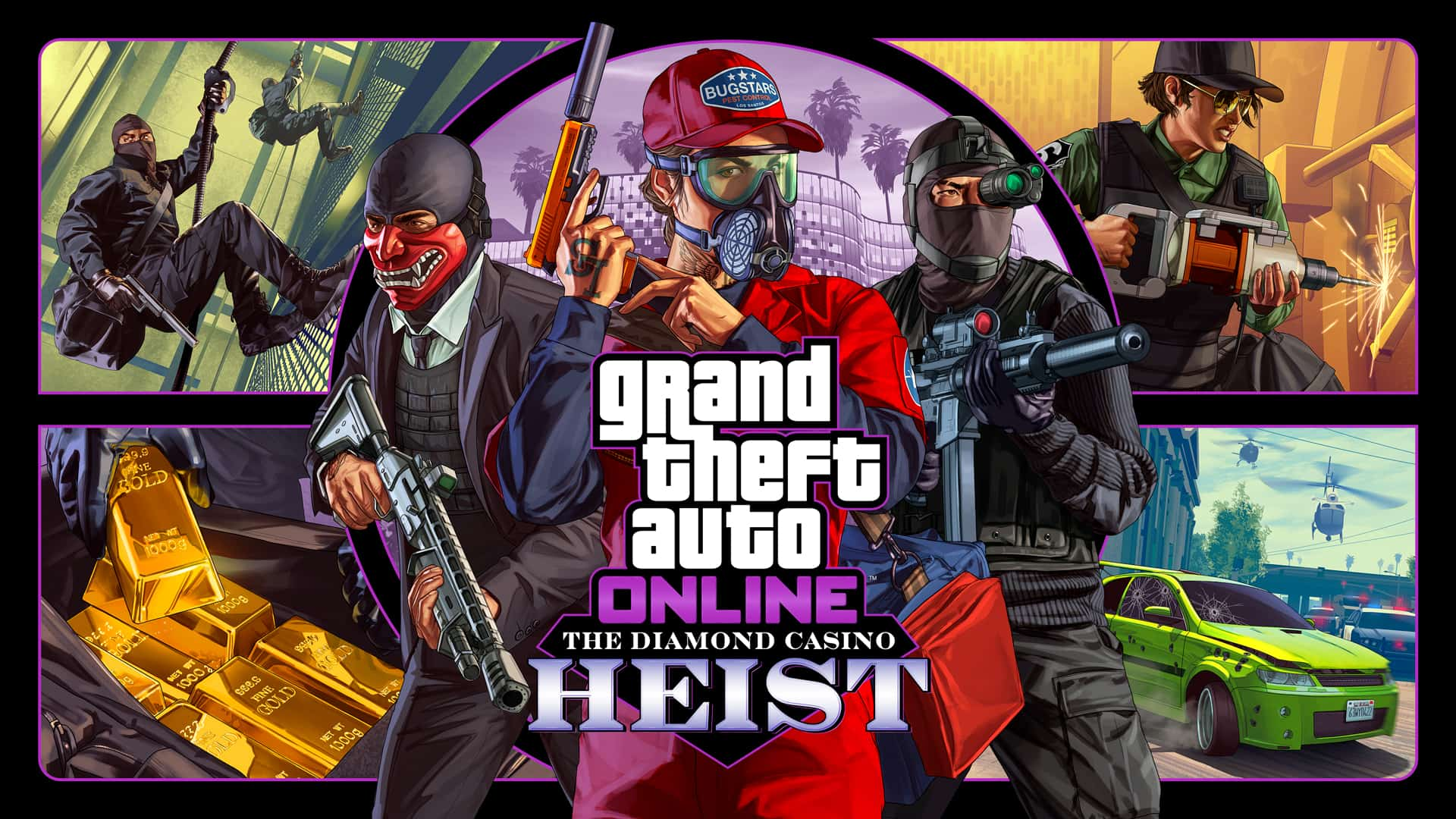 GTA Online The Diamond Casino عملية سطو