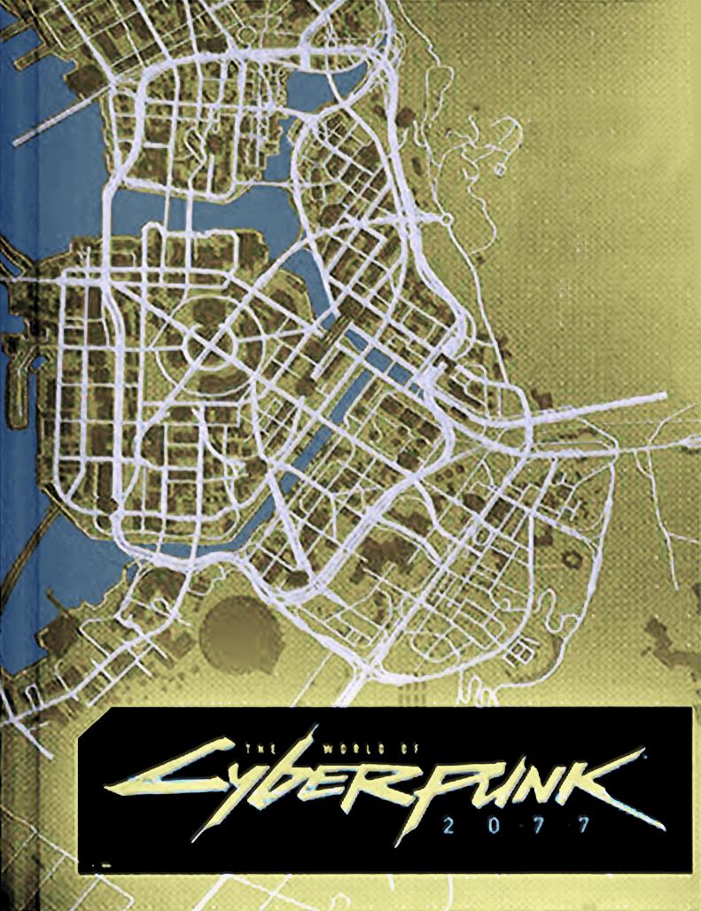 Cyberpunk 2077 خريطة