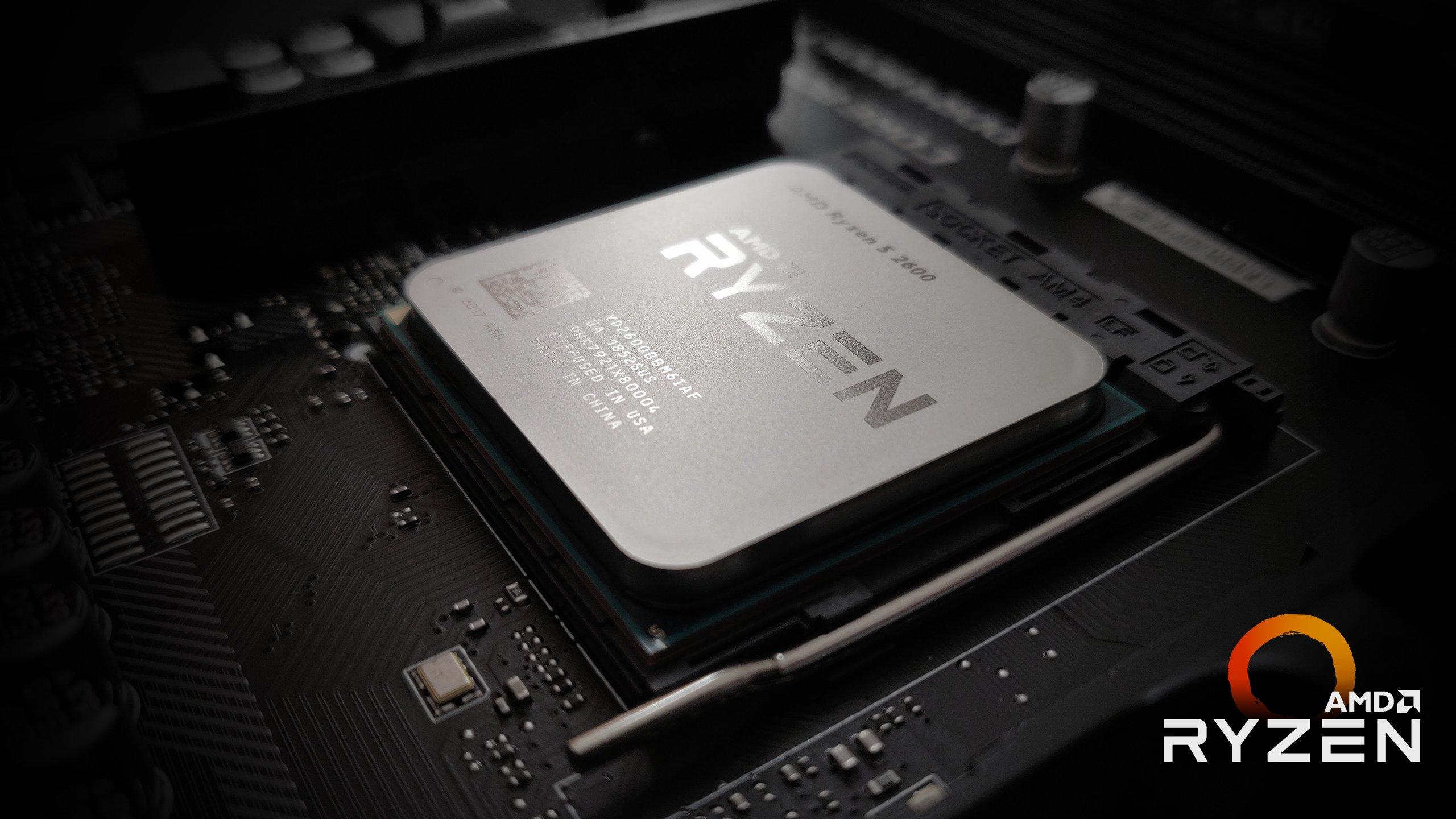 AMD Ryzen منصة المعالج 2019