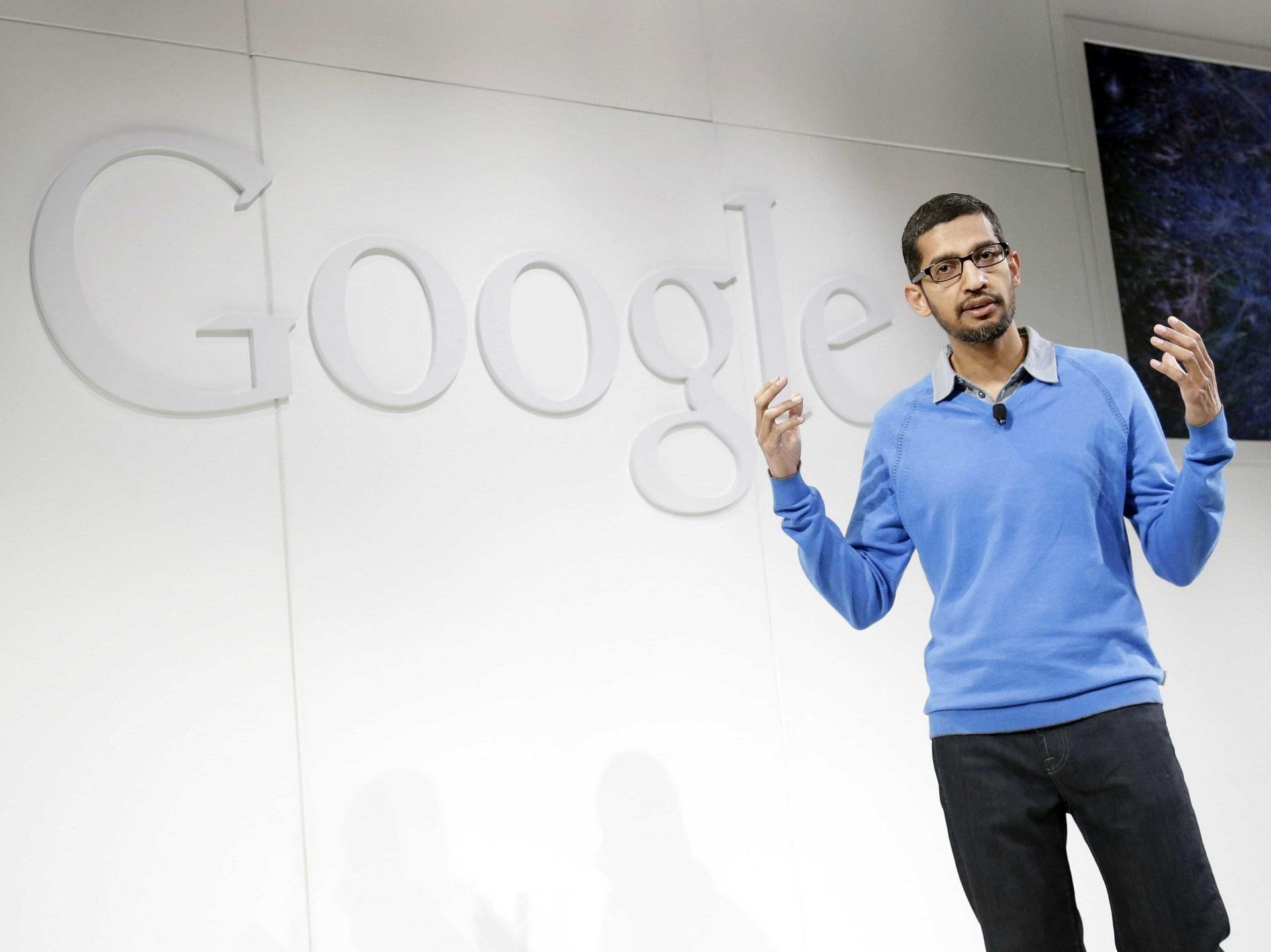 جوجل Sundar Pachai