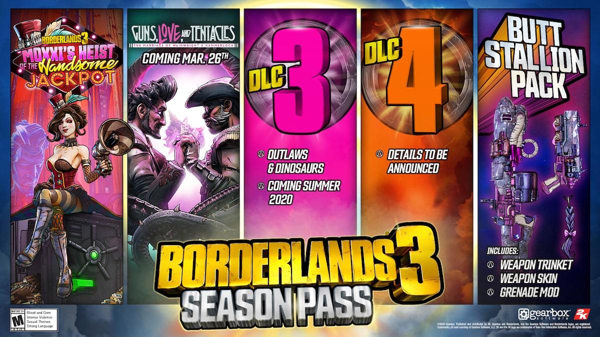 Borderlands 3 Guns Love and Tentacles توسعة