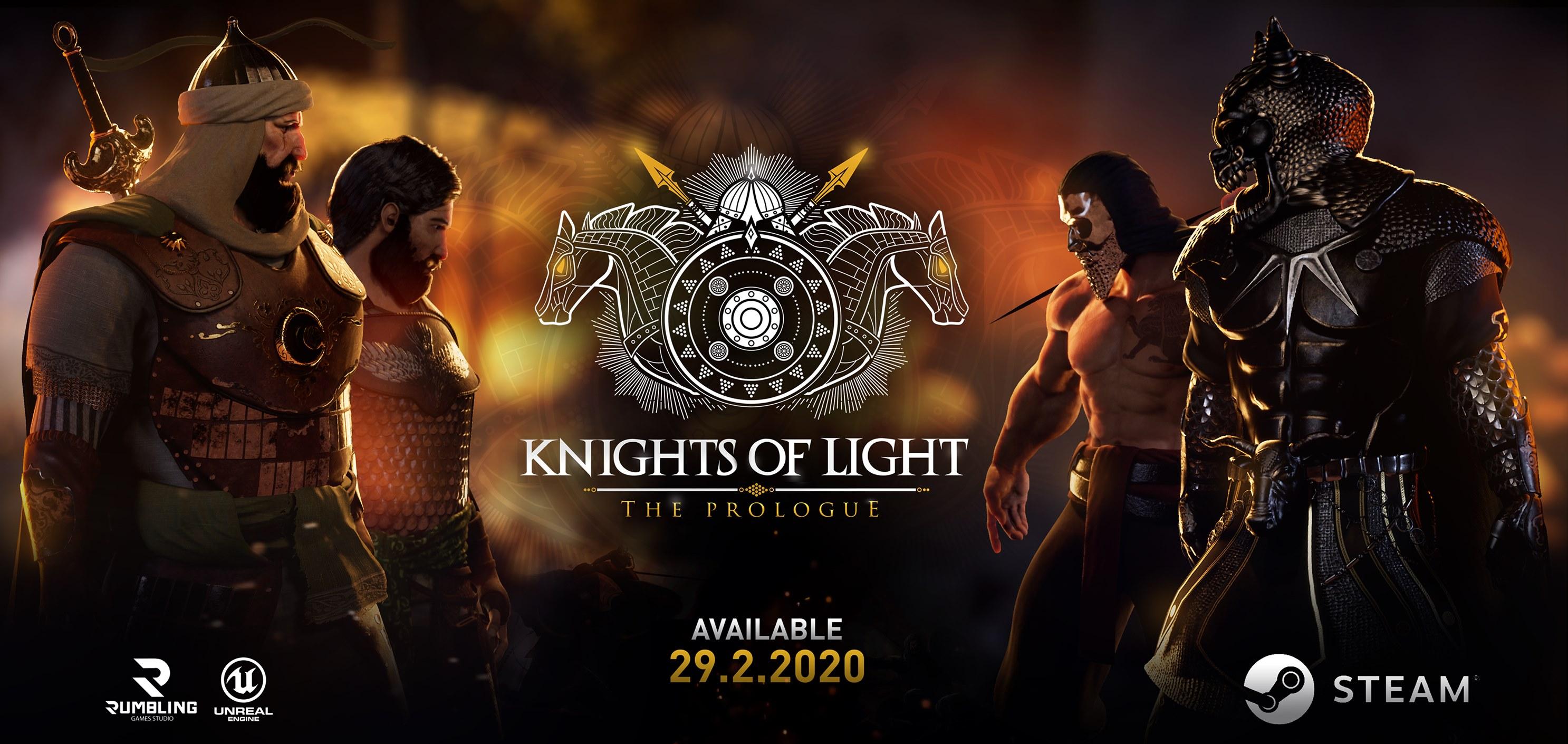 Knights of Light Rumbling Games لعبة مصرية
