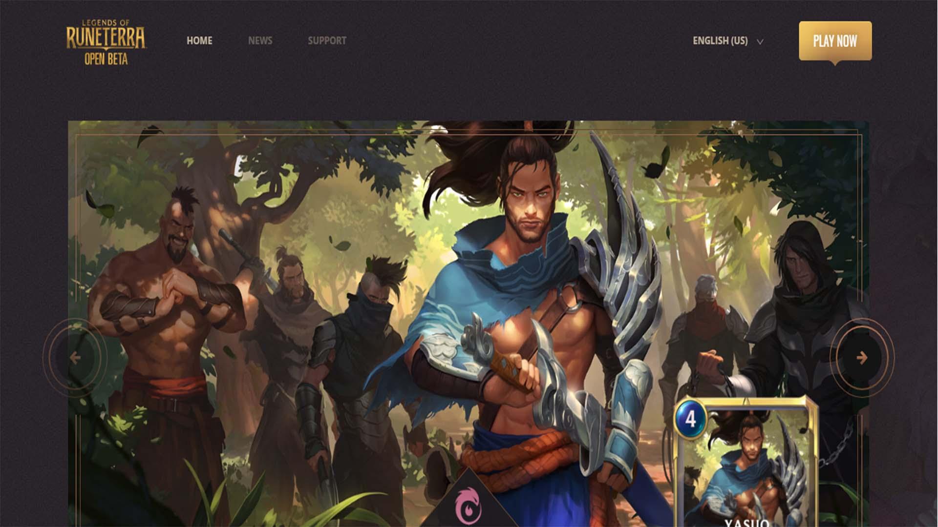 الدخول على الموقع الرسمي الخاص باللعبة https://playruneterra