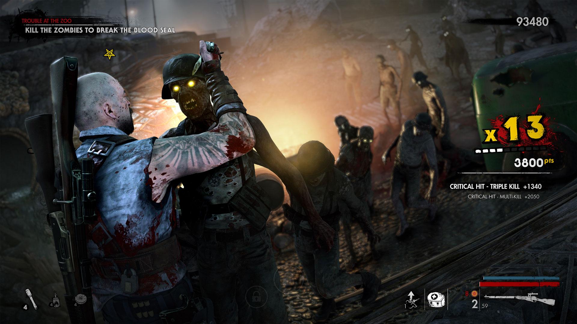 zombie army 4 dead war مراجعة
