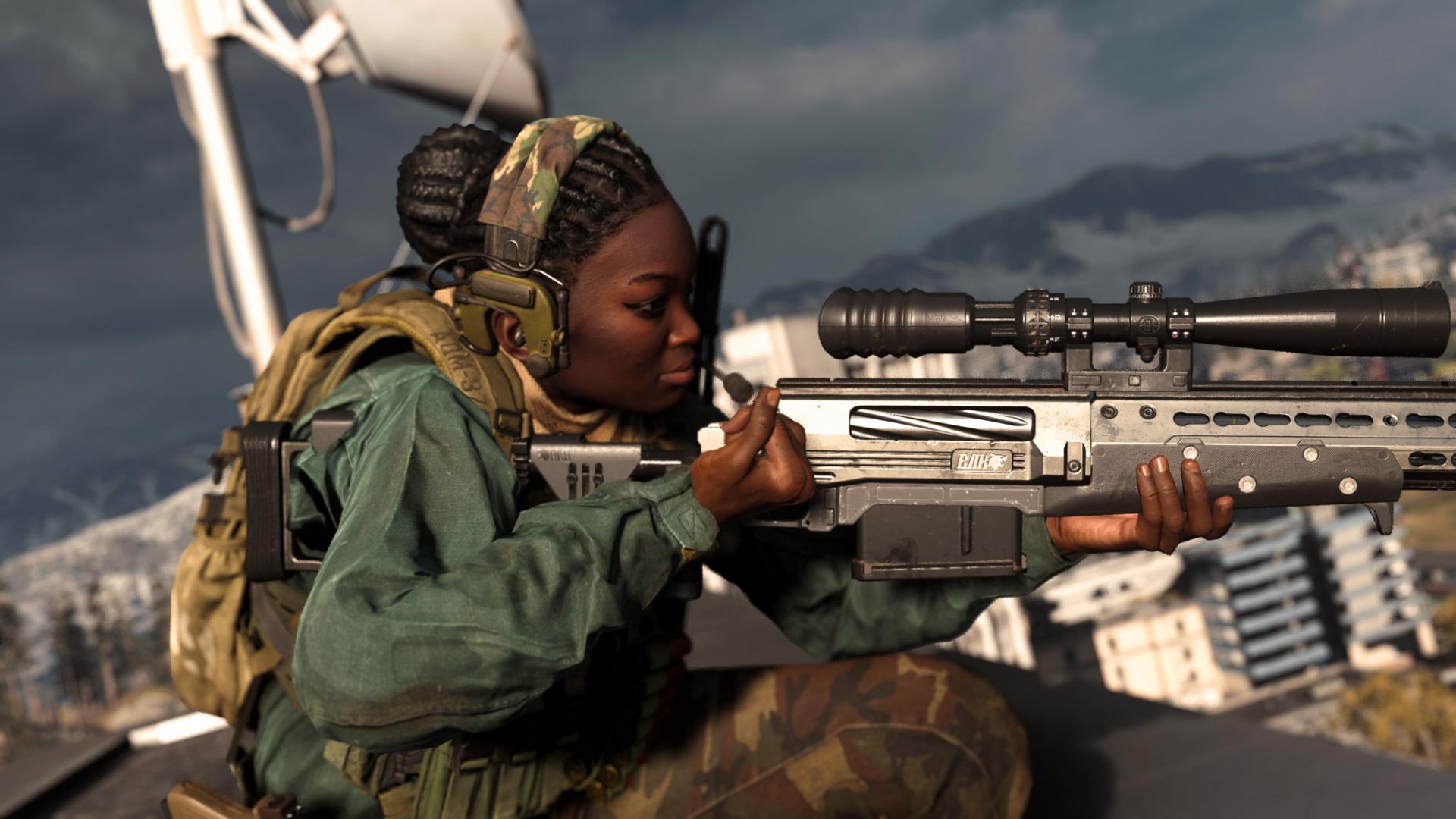 الـ Sniper أو بندقية القنص هي خيارك المثالي للعب
