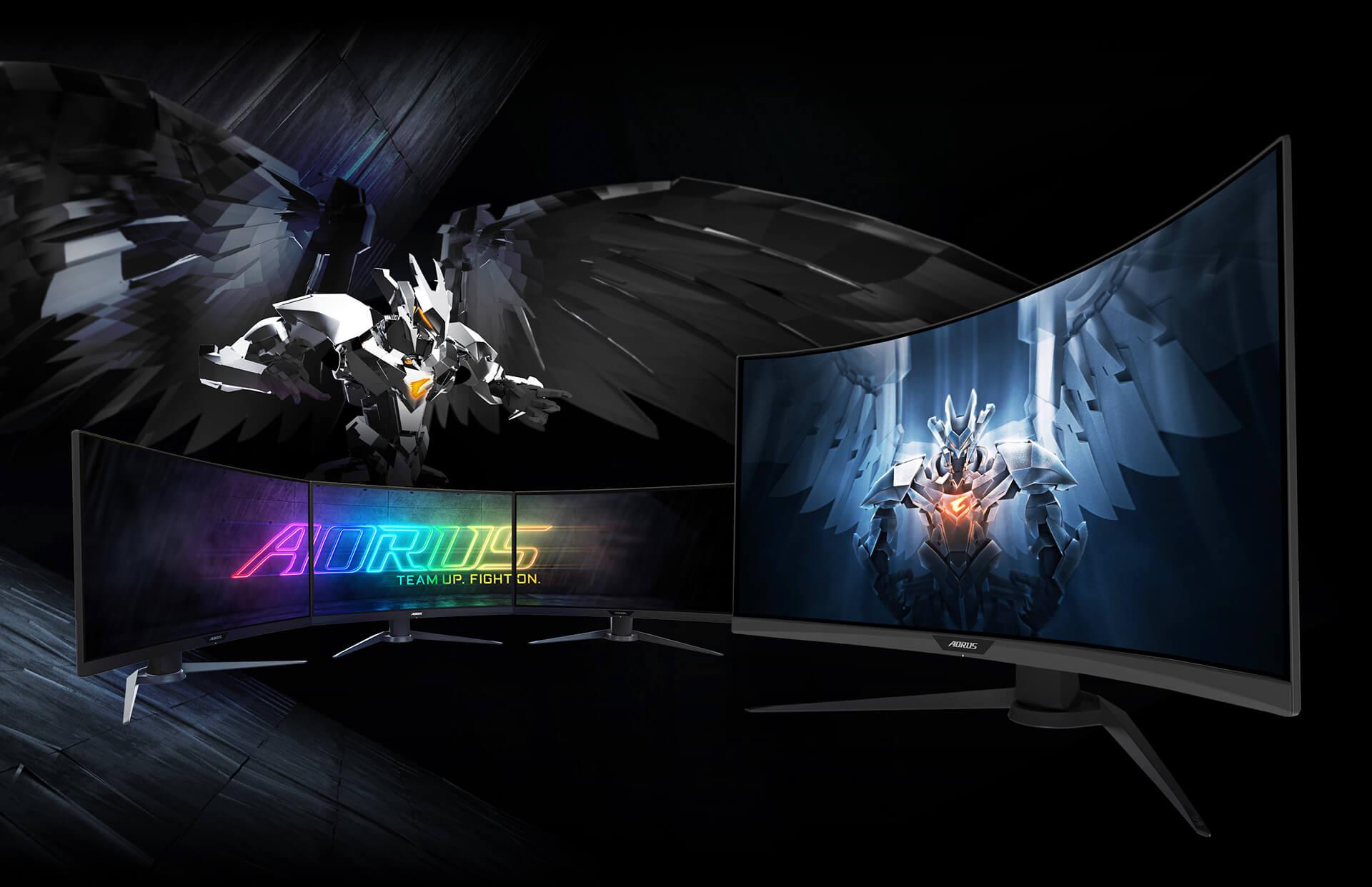 Aorus الشاشة الألعاب Gigabyte