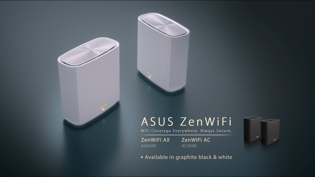 ASUS Zen WiFi لتقوية اشارة الواي فاي في المنزل