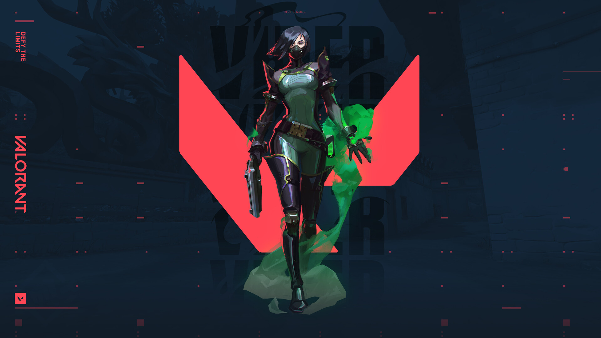 Valorant Viper Riot Games
