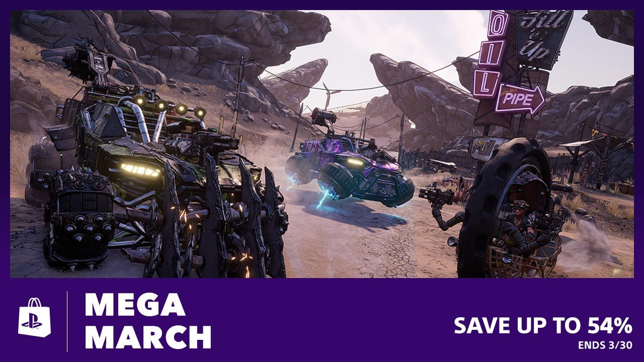 March Mega Sale PS4 Sony