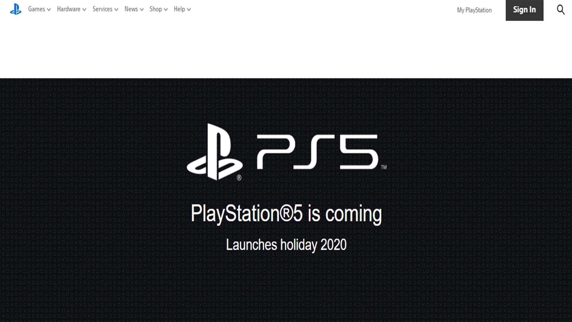 sony confirm playstation 5 date