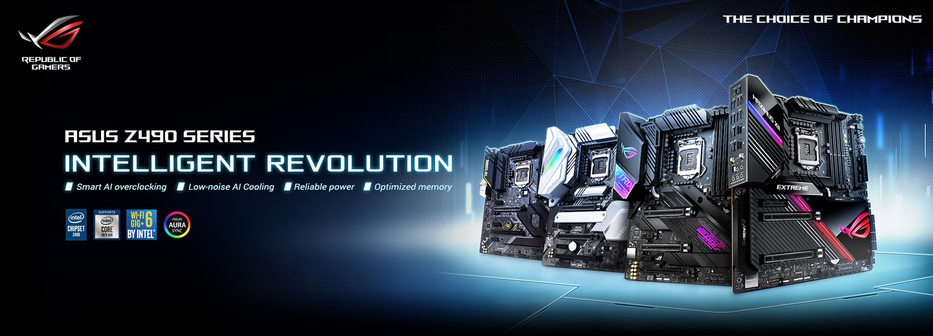 ASUS Z490 Intel CPU Motherboard
