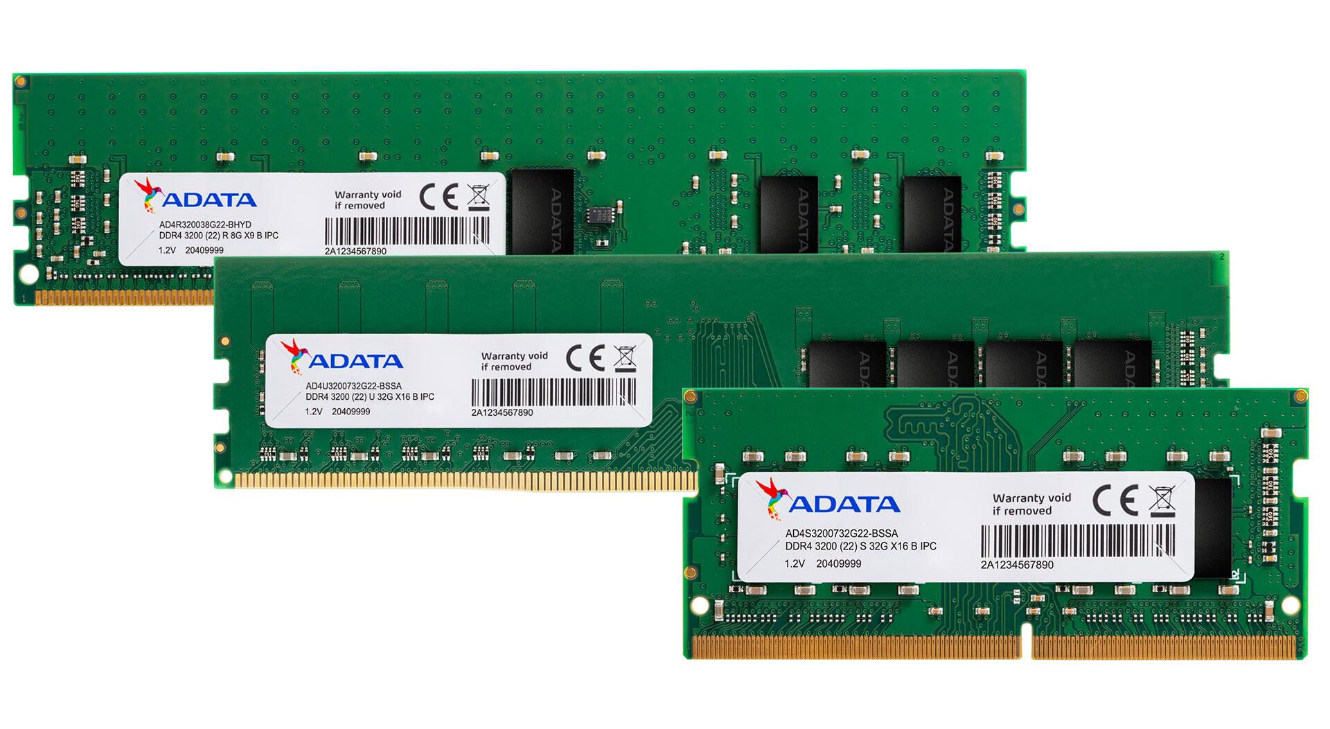 ADATA DDR4 AMD Intel Ram