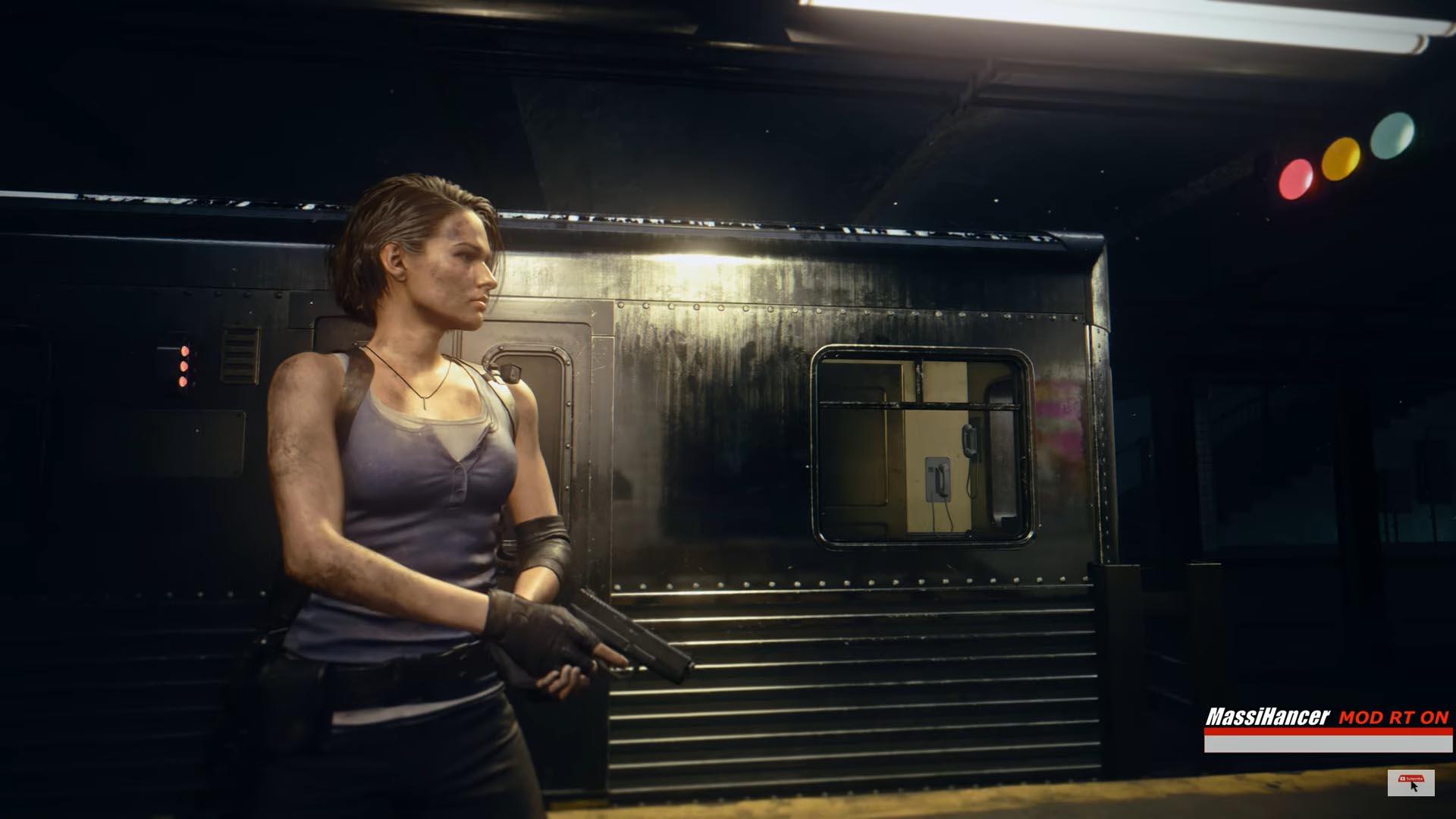 تحديث Reshade للعبة Resident Evil 3 تأثيرات تتبع الأشعة AMD NVIDIA Ray tracing