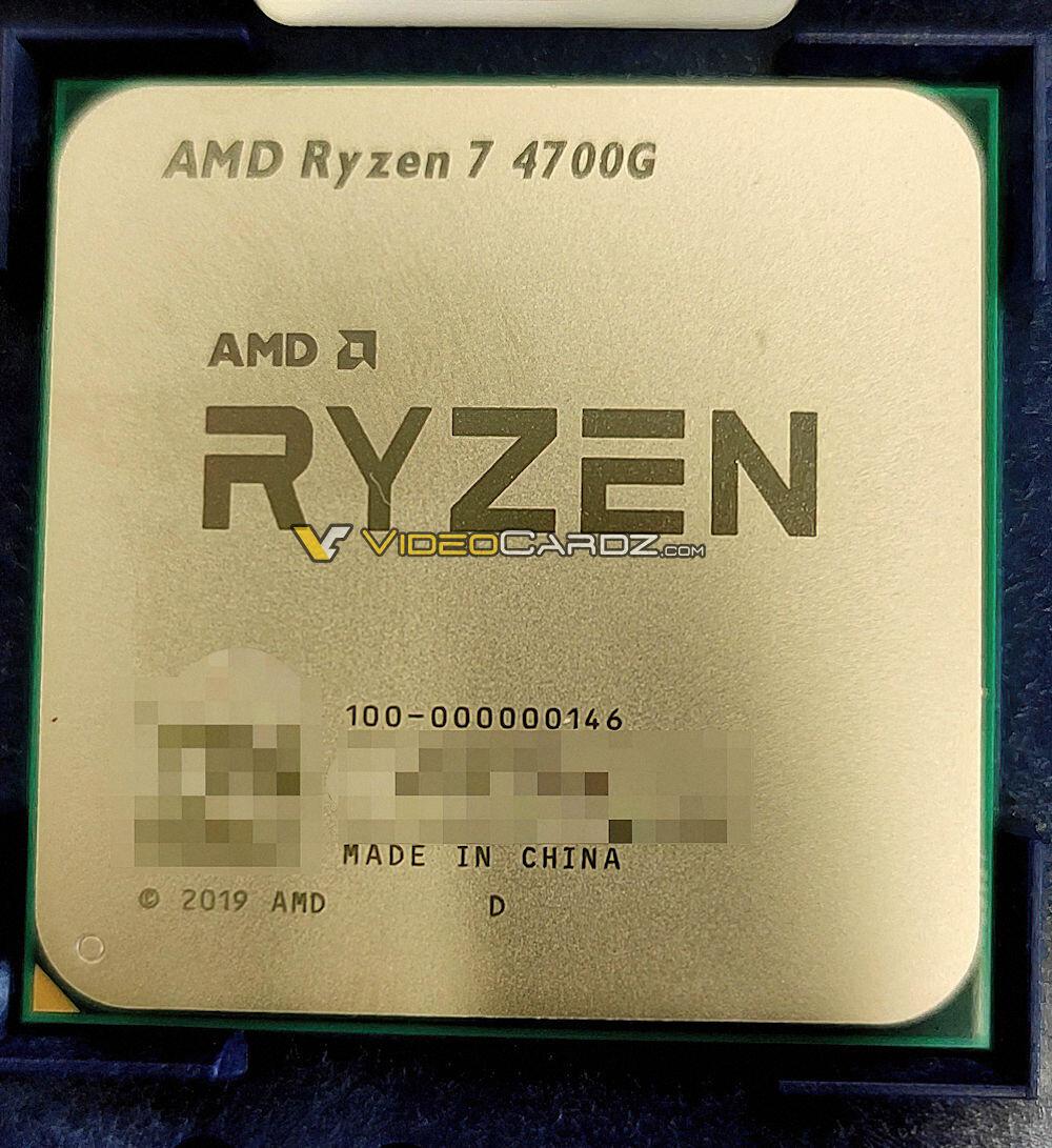 AMD Ryzen 7 4700G APU CPU Intel iGPU