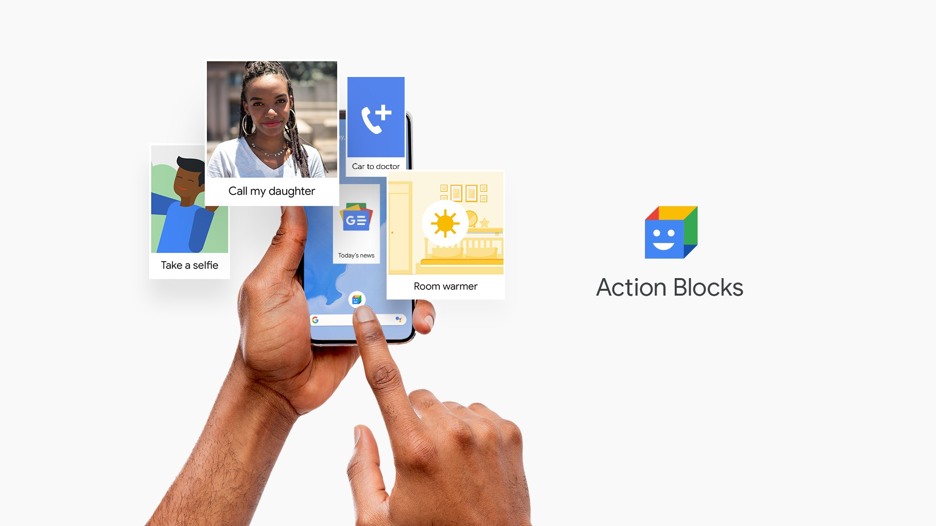 Action Blocks جوجل