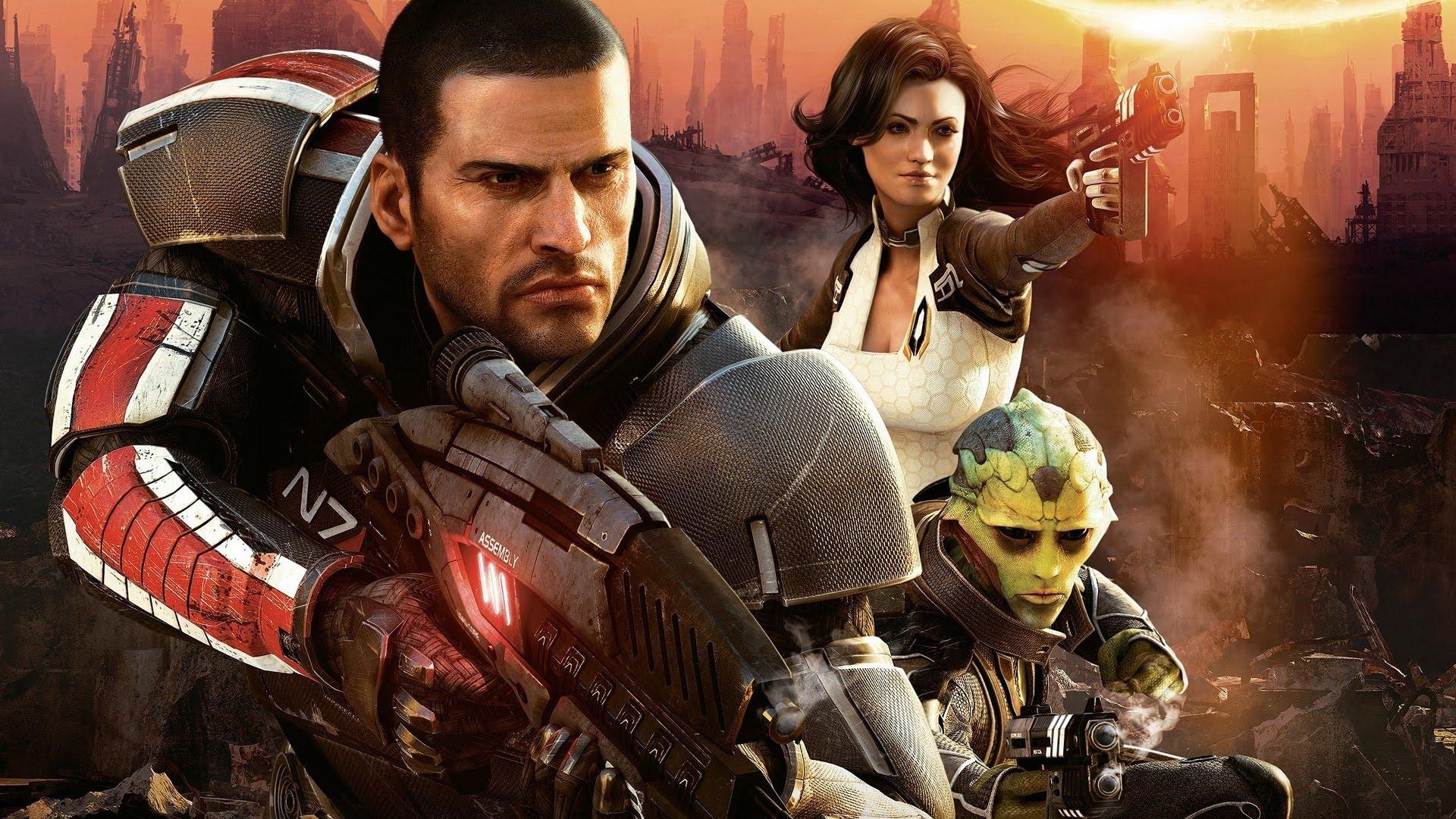 Mass Effect Trilogy نسخة محسنة