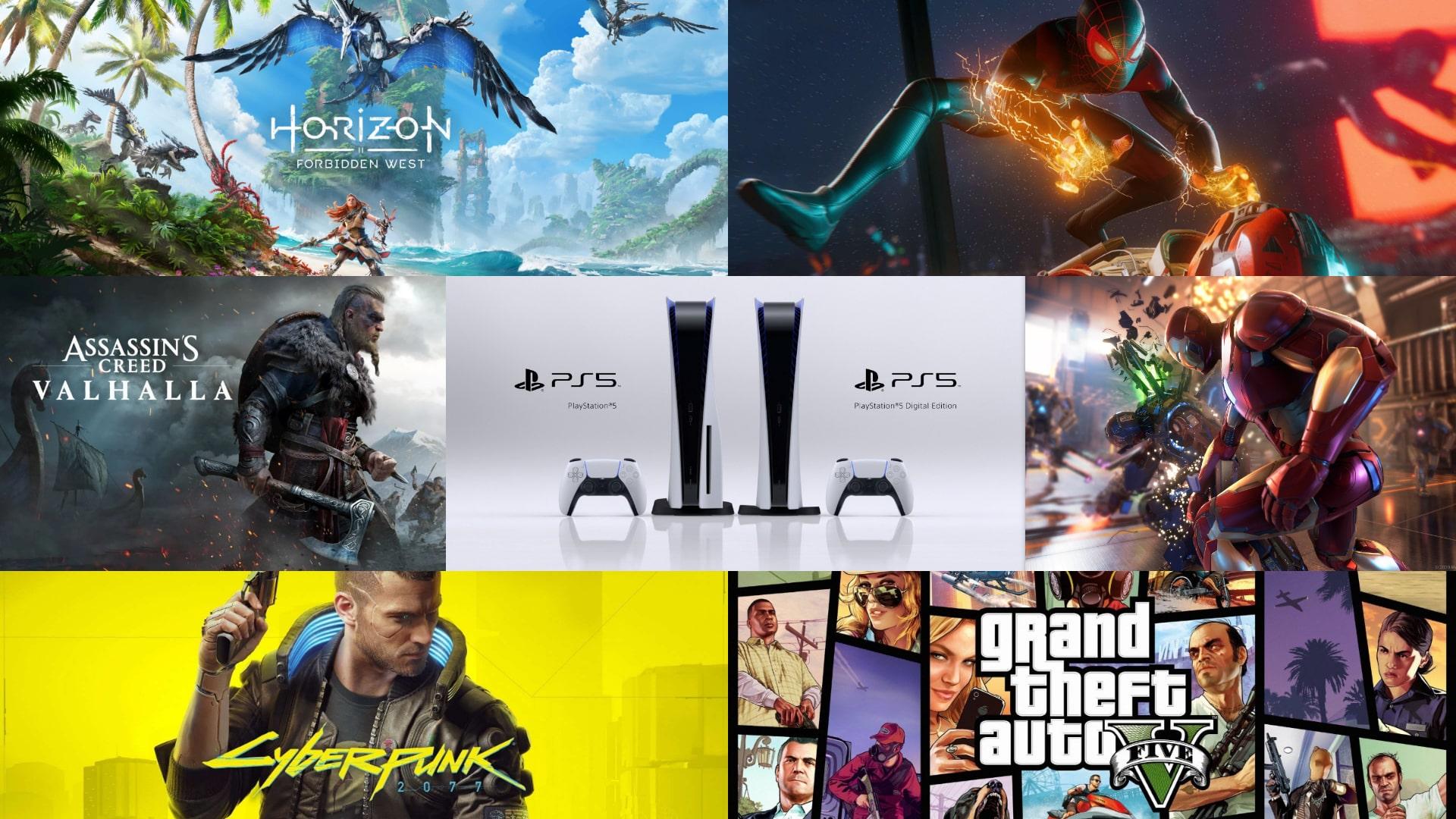 PS5 Sony ألعاب حصريات دليل