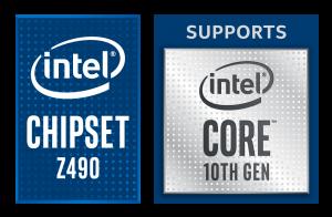 Intel 10th gen Z490 Chip