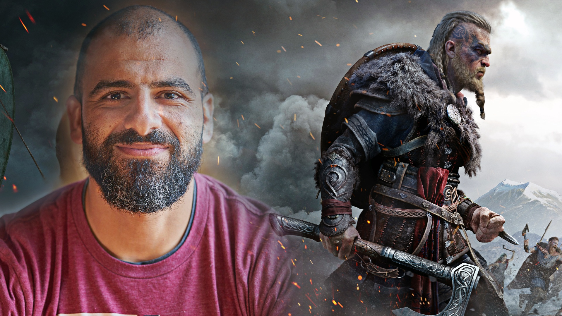 Assassin's Creed Valhalla Ubisoft أشرف إسماعيل