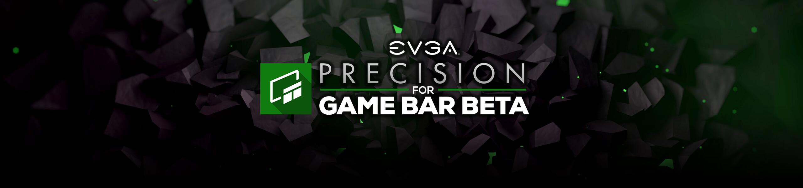 EVGA Precision for Game Bar