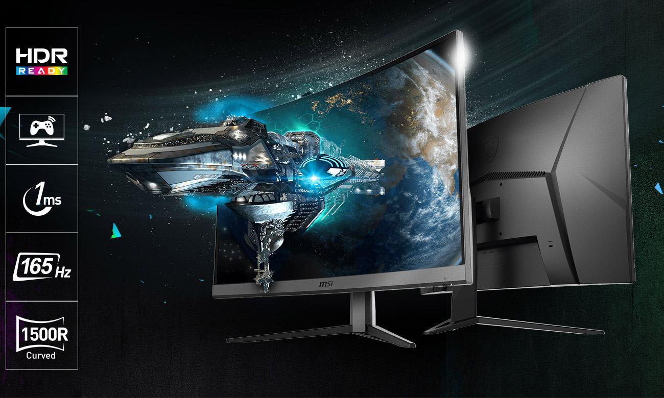 شركة MSI تعلن عن شاشة الألعاب MAG272C Monitor مع دقة عرض 1080p