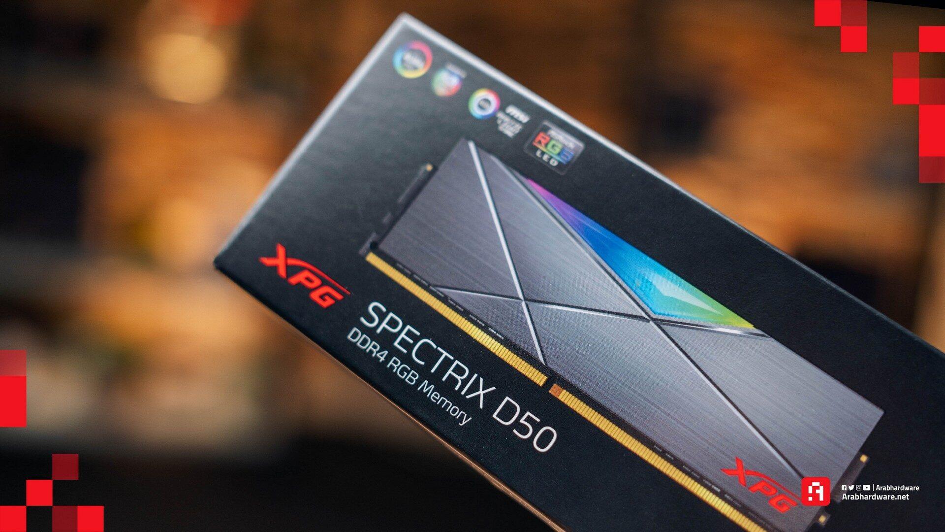 RAM XPG ADATA SPECTRIX D50 رامات