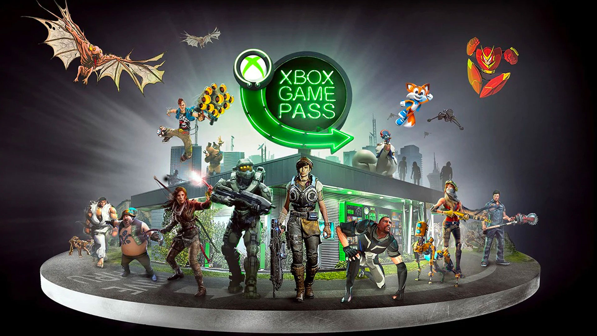 Xbox Game Pass Xbox خدمة