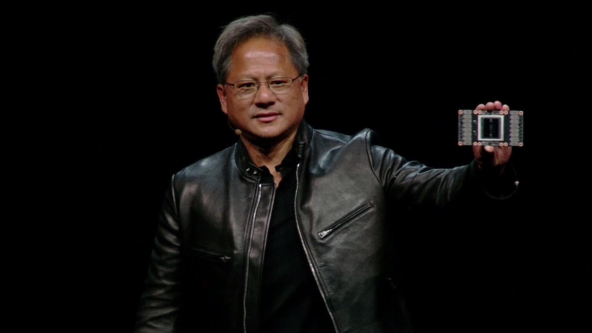 رئيس NVIDIA التنفيذي Jensen Huang