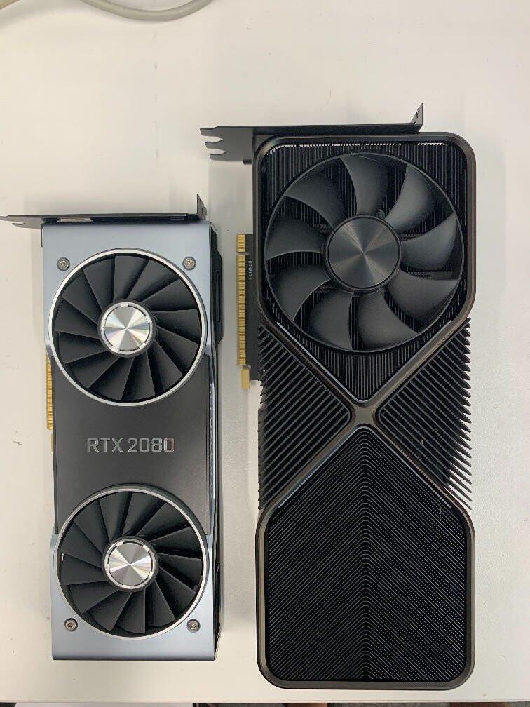 صور بطاقة GeForce RTX 3090 العملاقة من معمارية Ampere تظهر للنور !