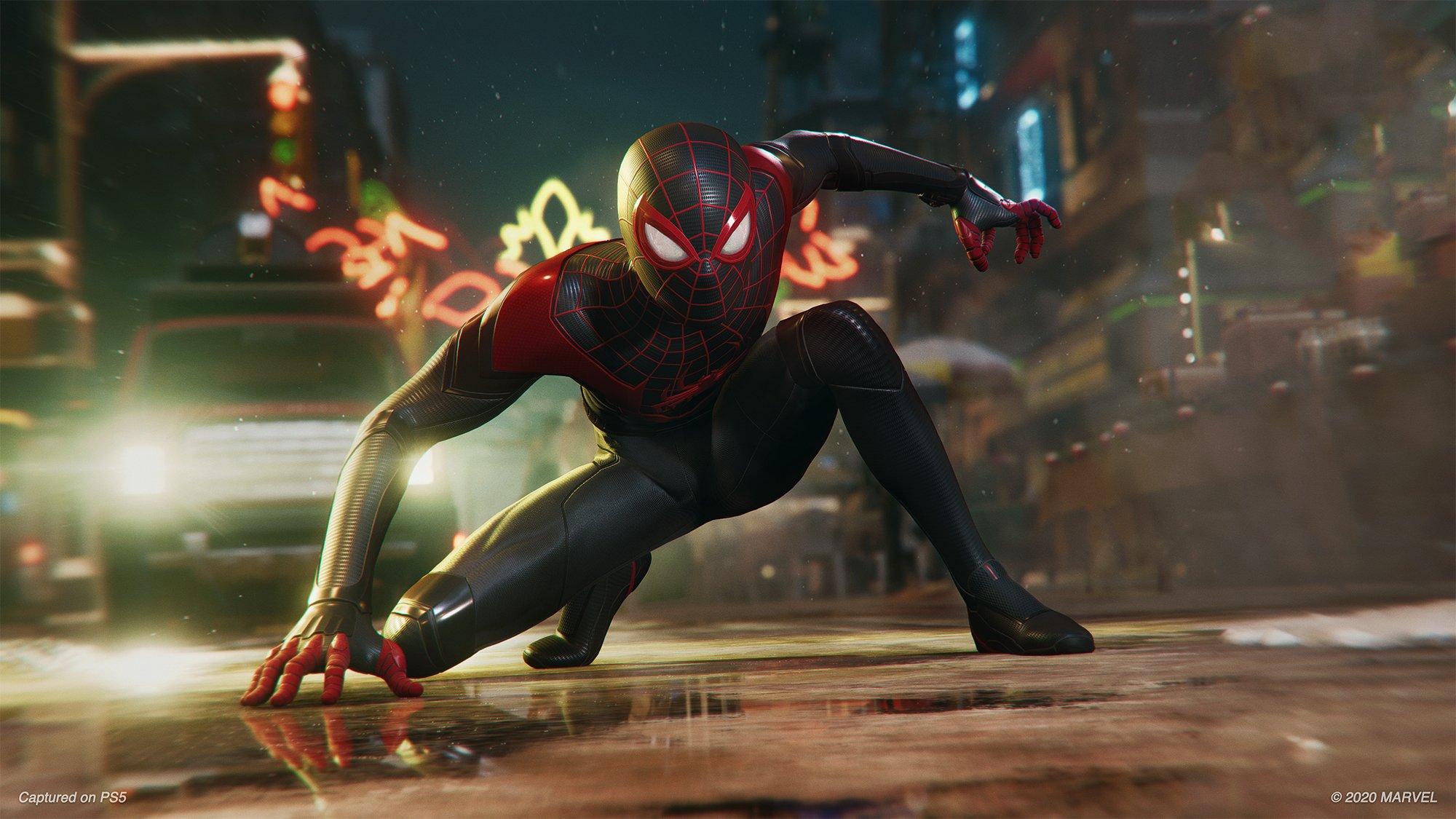 Sony PS5 Spiderman Miles Morales