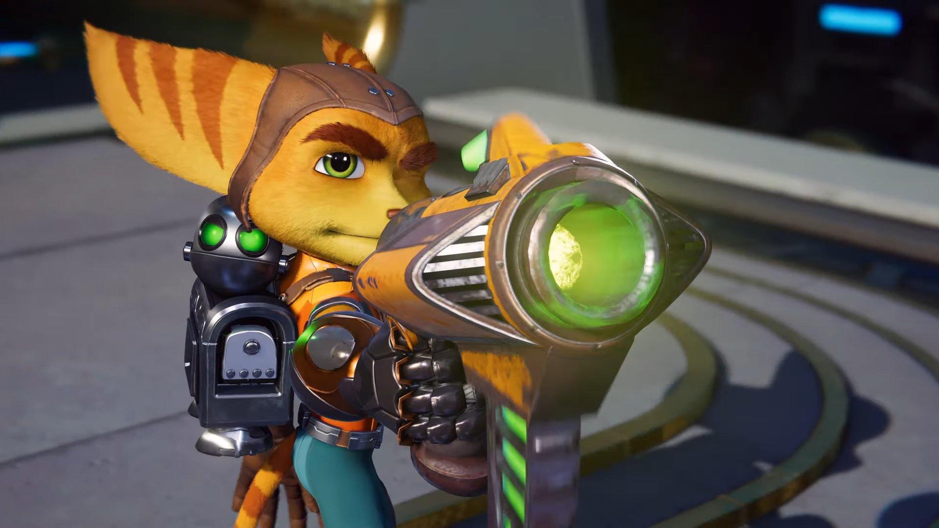صورة تفقد إعلان جديد للعبة Ratchet and Clank: Rift Apart يُركز على الاسلحة