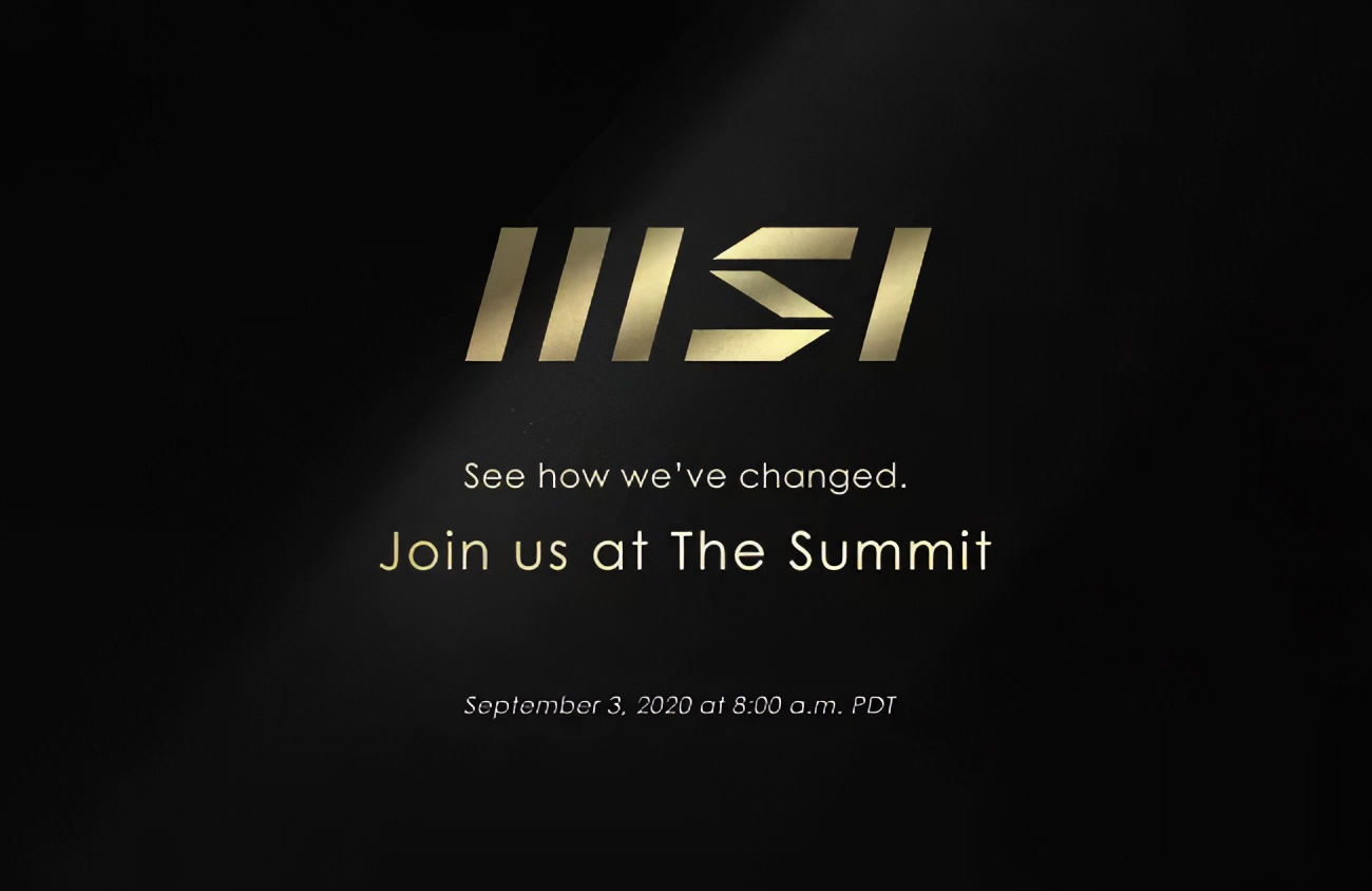 MSI September Event