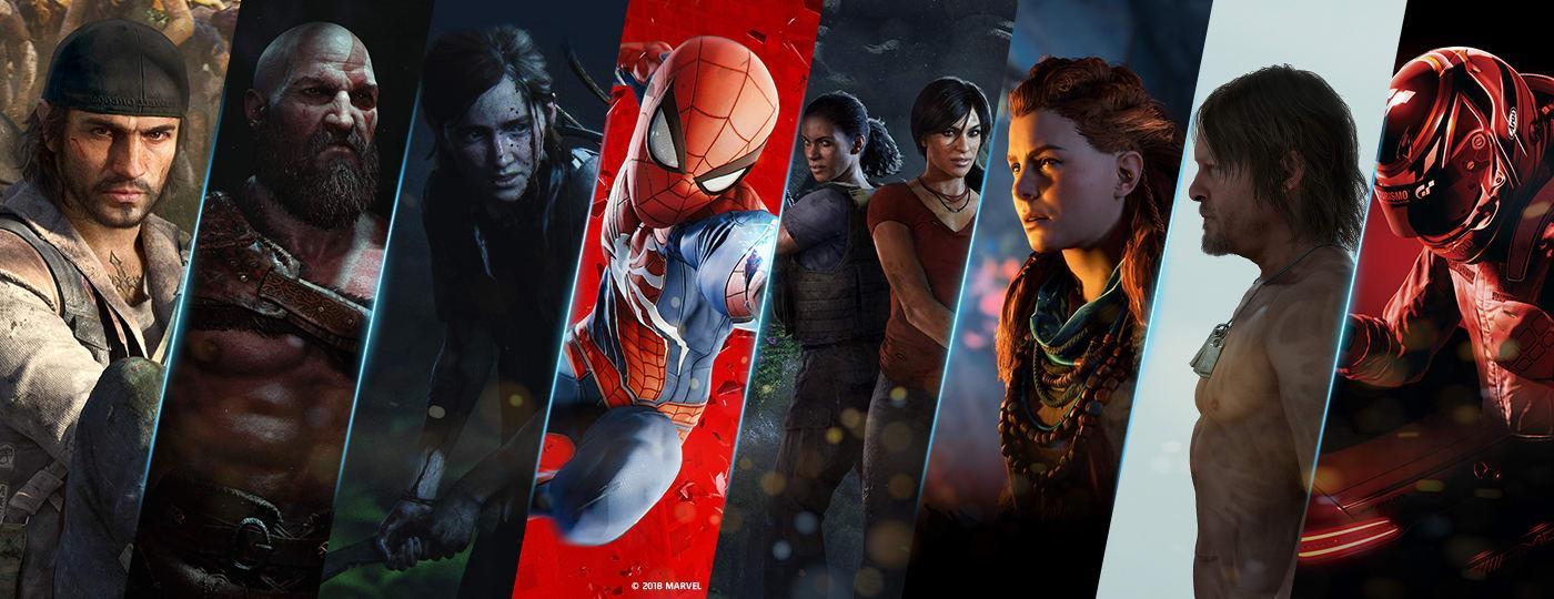 أفضل حصريات PS4