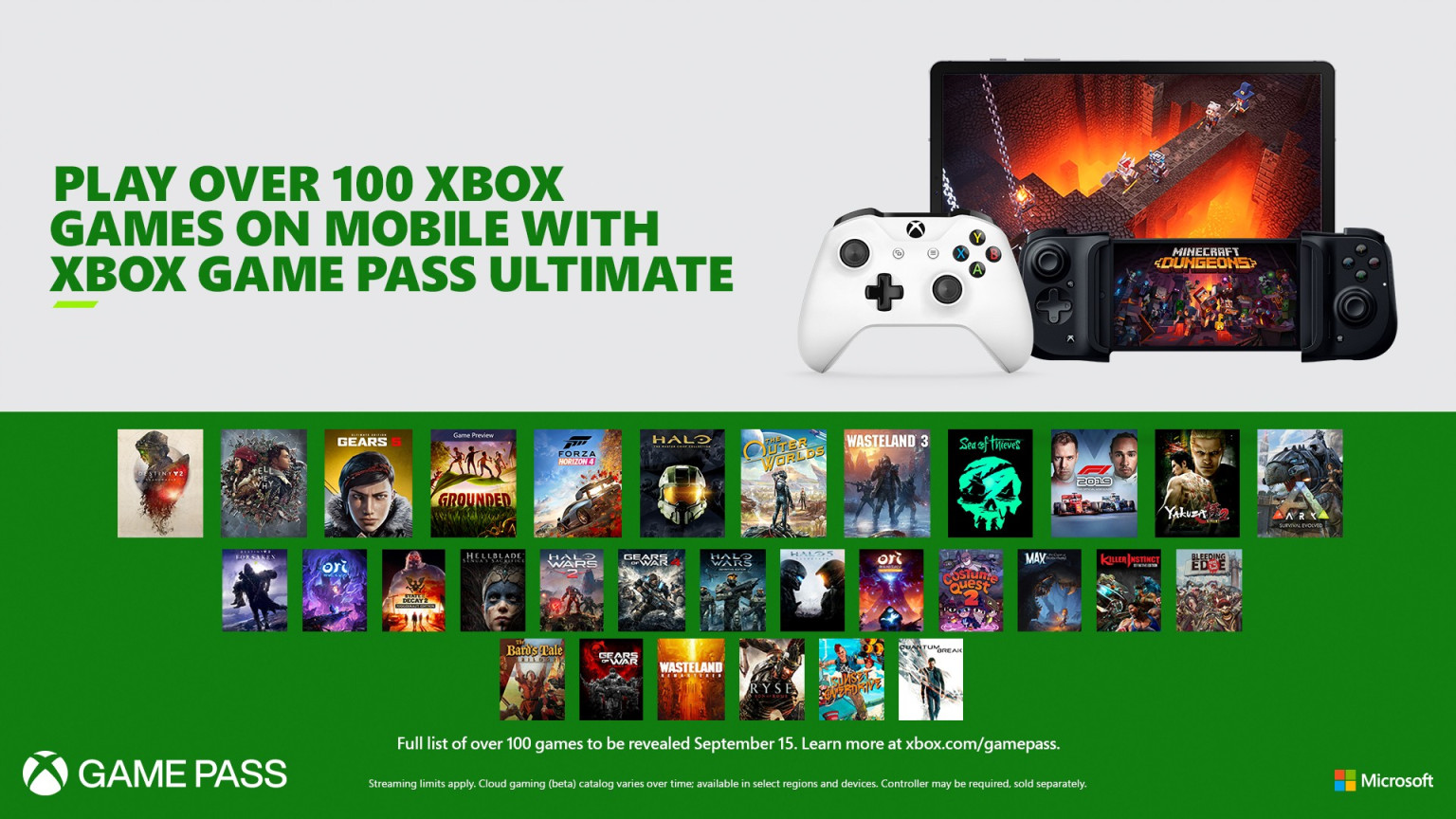 XCloud Xbox Game Pass Ultimate خدمة سحابية