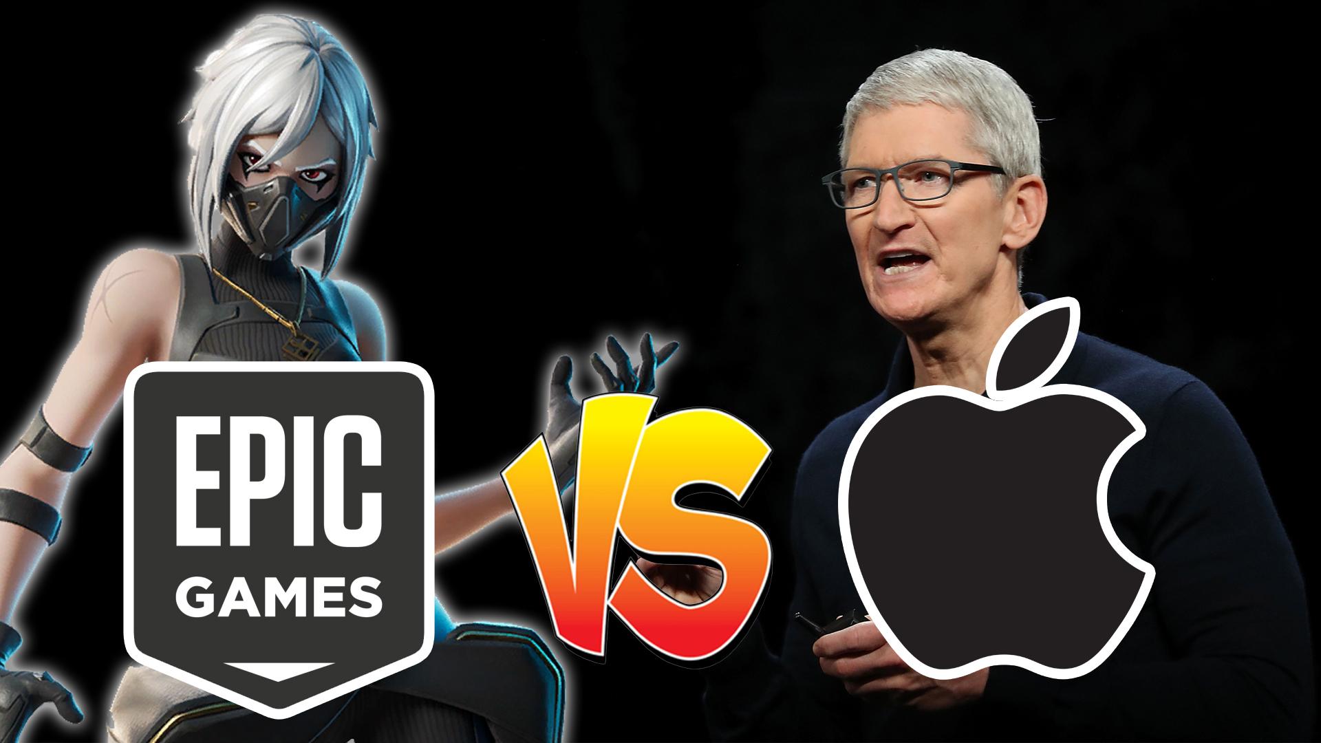 Epic Games Fortnite Apple Google أبل جوجل