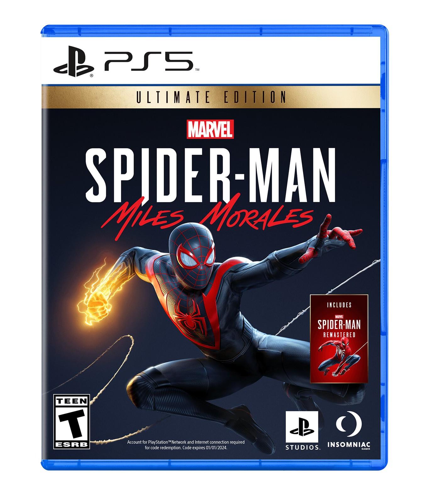 Spiderman Miles Morales PS5 سوني