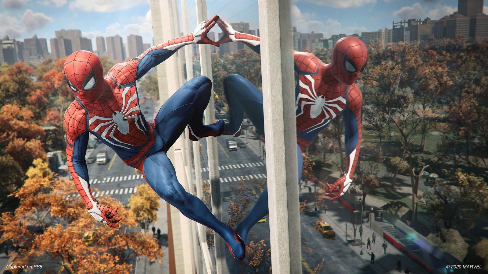 Spiderman PS4 PS5 Spiderman Miles Morales النسخة المحسنة