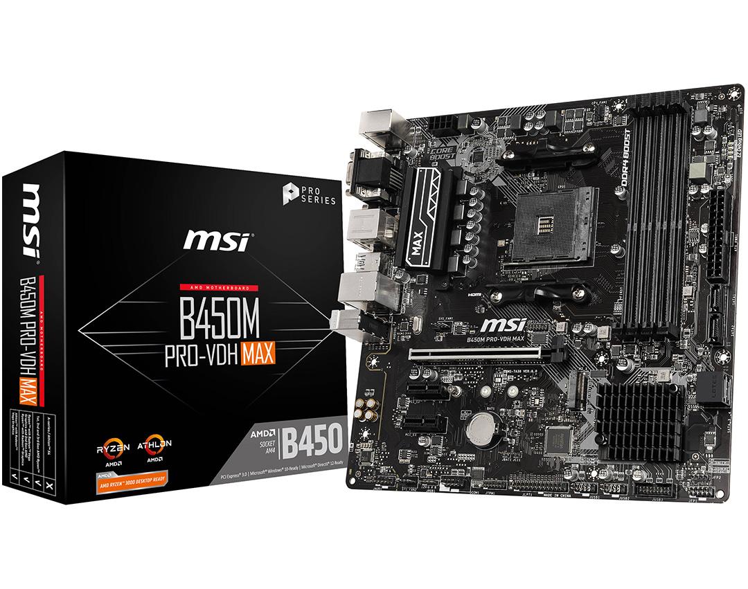 MSI B450 VDH-MAX