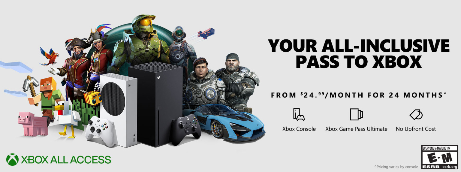 Xbox All Access Xbox Series X Xbox