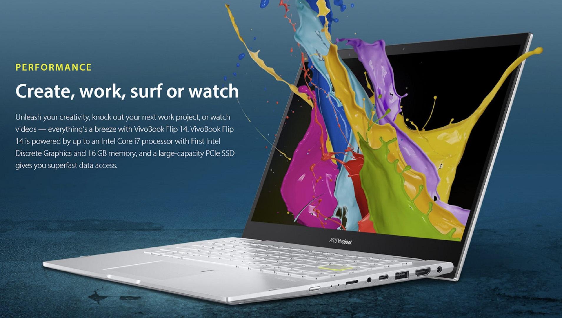 ASUS VivoBook Intel Xe