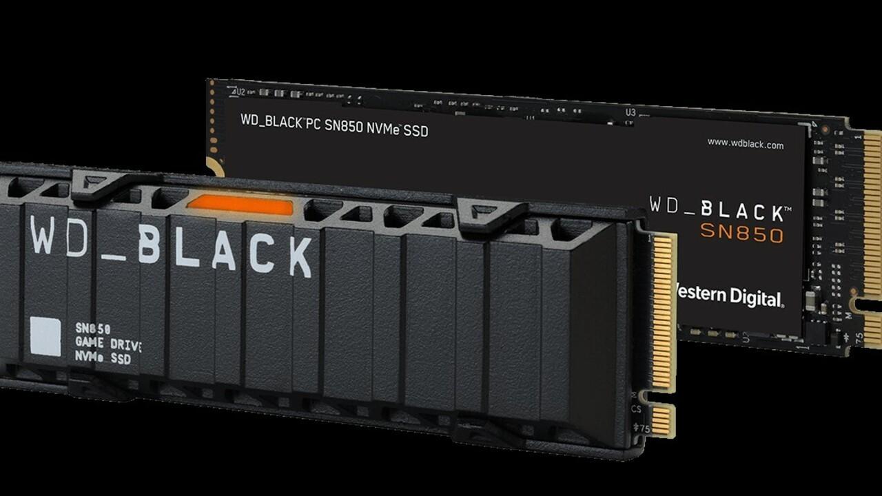 PS5 WD SN850 SSD أقراص الحالة الصلبة NVMe