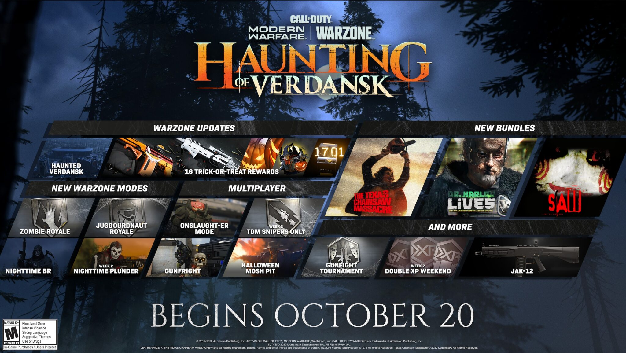 COD Warzone Activision حدث The Haunting of Verdansk