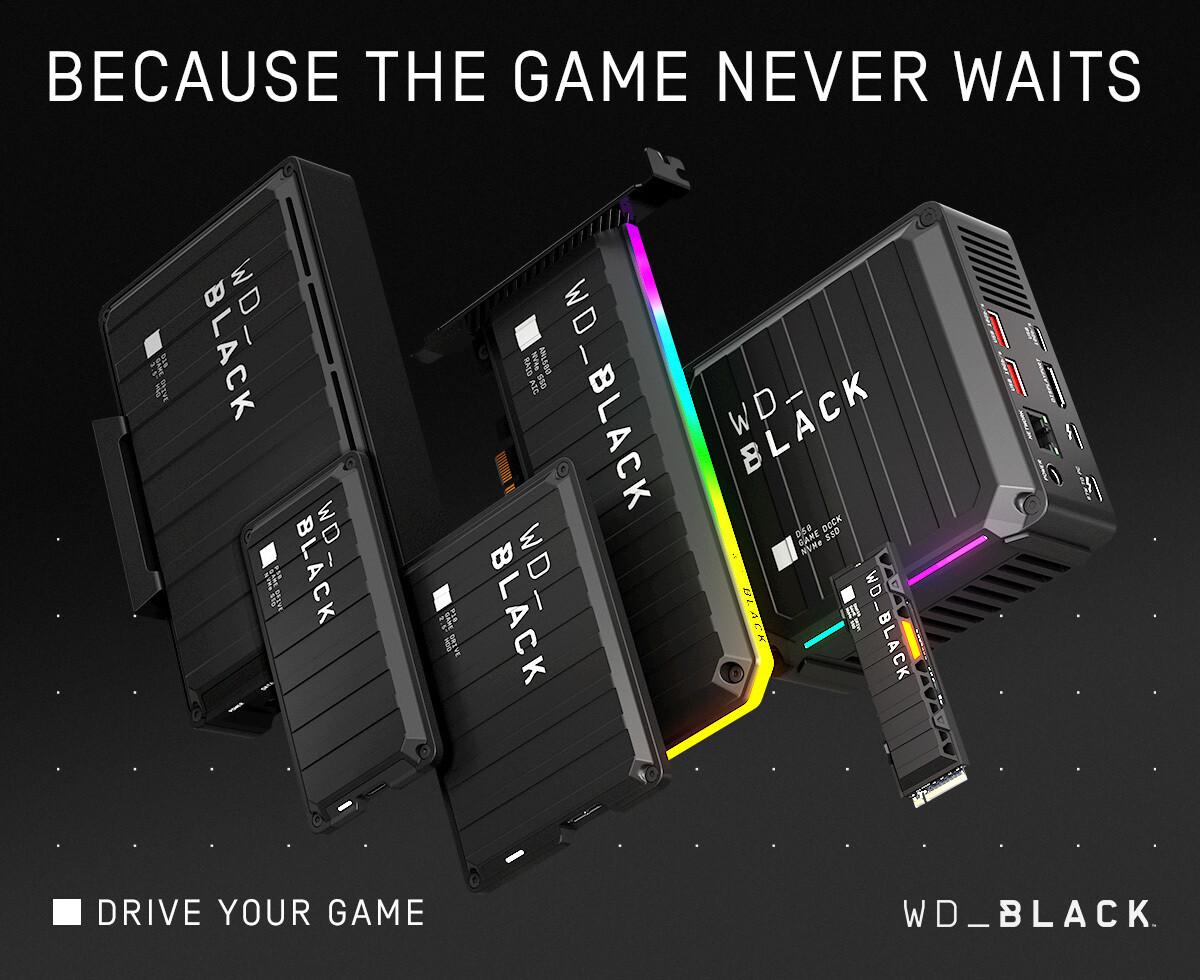 Western Digital Announces Next-Gen WD_Black