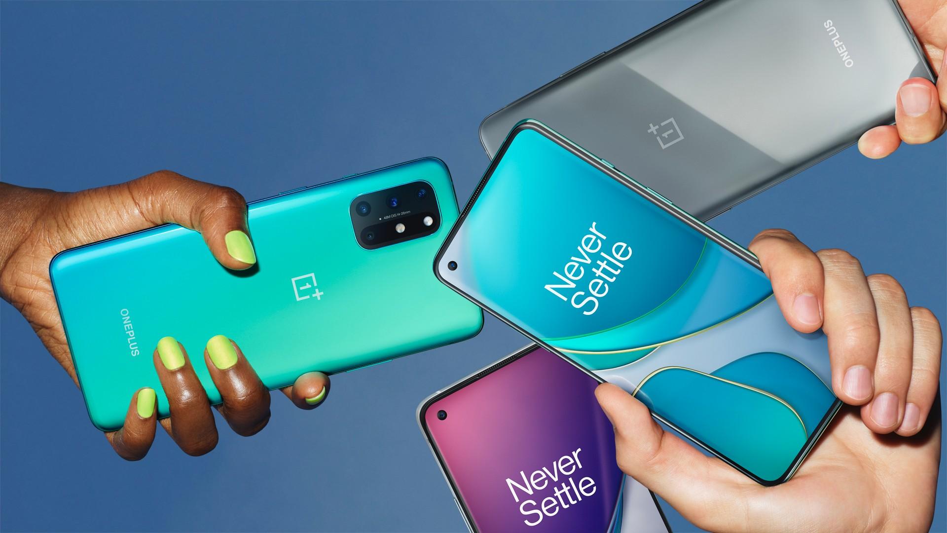 OnePlus 8T الهواتف