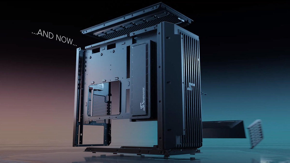 شركة Seasonic تدخل سوق الحواسيب الشخصية مع كيس SYNCRO Q704 المميزة
